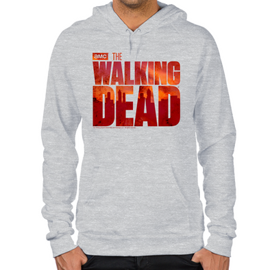 The Walking Dead Blood Logo Hoodie
