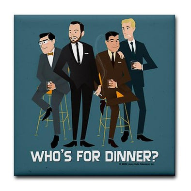 Mad Men Philanderers Tile Coaster