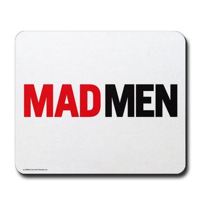 Mad Men Logo Mousepad