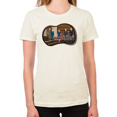 Sterling Cooper Mad Men Women's Fitted T-Shirt