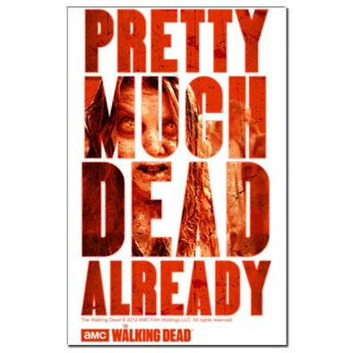 Dead Already Mini Poster Print
