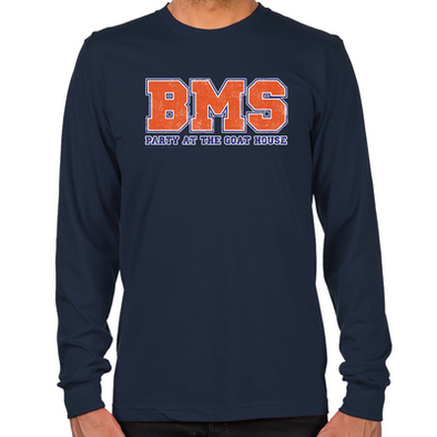 BMS Party at the Goat House Long Sleeve T-Shirt