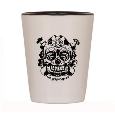 Skull TNT Shot Glass
