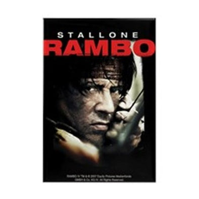 Rambo Close Up Magnet