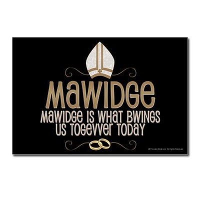 Mawidge Postcards (Package Of 8)