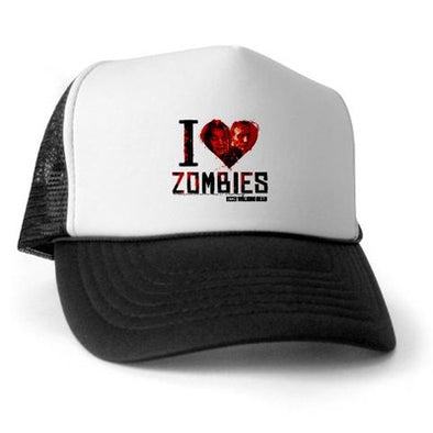 I Heart Zombies Trucker Hat