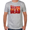 The Walking Dead Blood Logo Fitted T-Shirt