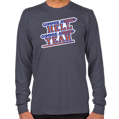 Blue Mountain State Hell Yeah Long Sleeve T-Shirt