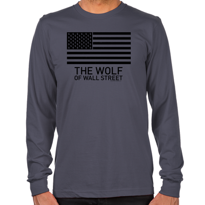 Wolf of Wall Street MORE Long Sleeve T-Shirts