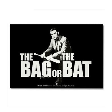 The Bag Or Bat Magnet