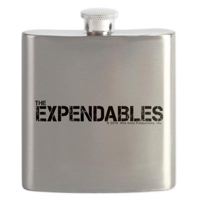 The Expendables Flask