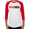 Mad Men Logo Men's Baseball T-Shirt