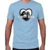 Twoo Love Fitted T-Shirt