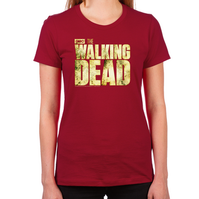 The Walking Dead Logo Women's T-Shirt
