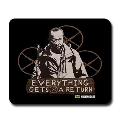 Morgan: Everything Gets A Return Mousepad