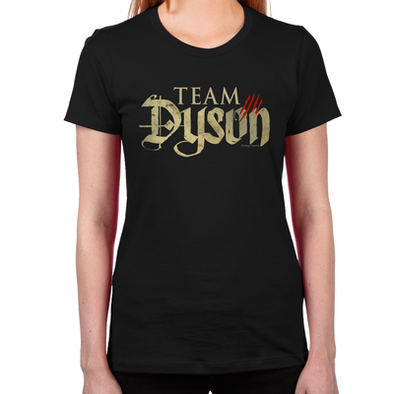 Lost Girl Team Dyson Women's Fitted T-Shirt