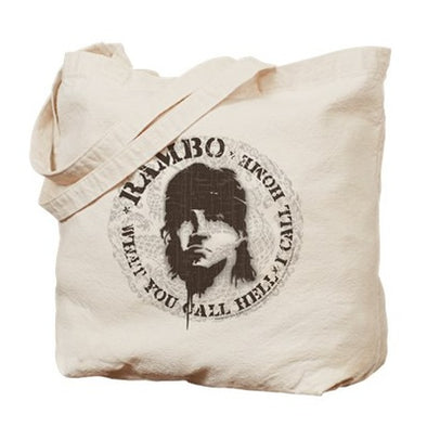 Rambo Call This Hell Tote Bag