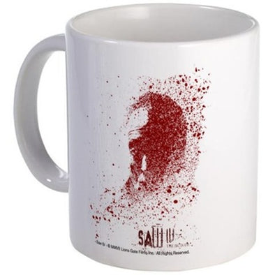 Saw Splatter Mug