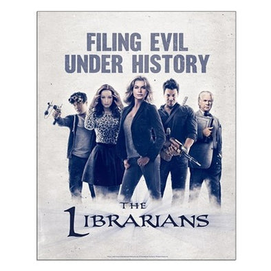 Filing Evil Under History Small Poster