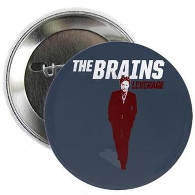 "The Brains 2.25"" Button"