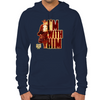 Walking Dead Rick Grimes I'm With Him Hoodie