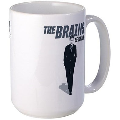 Leverage Brains Large Mug