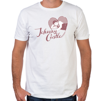 Love Johnny Castle Fitted T-Shirt