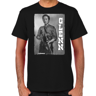 Glenn Silver Portrait Men's T-Shirt