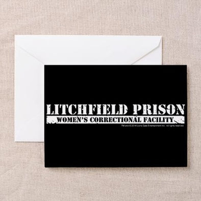 Litchfield Prison Greeting Card