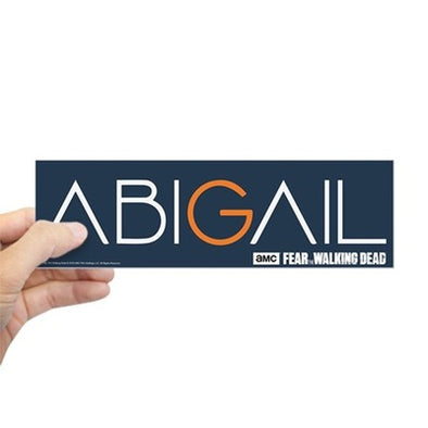 Fear The Walking Dead Abigail Bumper Sticker