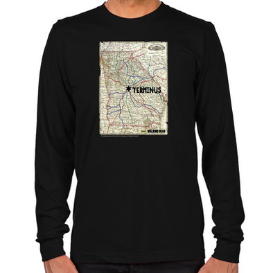 Terminus Map Long Sleeve T-Shirt
