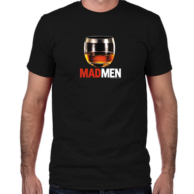 Mad Men Stiff One Men's T-Shirt