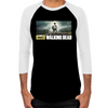 Carl and Rick Grimes Don't Look Back Men's Baseball T-Shirt