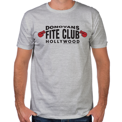 Donovan's Fite Club Fitted T-Shirt