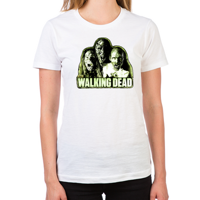 The Walkers Women's Fitted T-Shirts