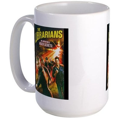 The Librarians Season 4 Large Mug
