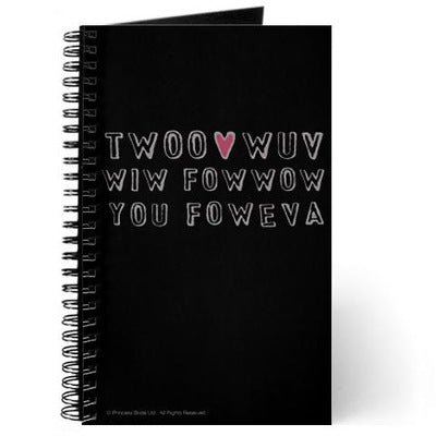 Twoo Wuv Foweva Journal