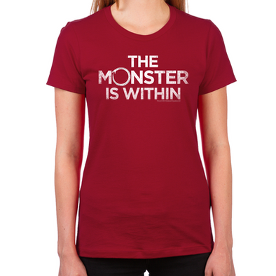 Monster Within Women's Fitted T-Shirt