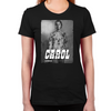 Carol Silver Portrait Women's Fitted T-Shirt
