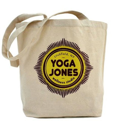 Yoga Jones Tote Bag