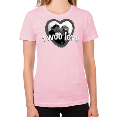 Twoo Love Women's Fitted T-Shirt