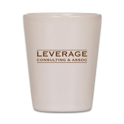 Leverage Consulting Shot Glass