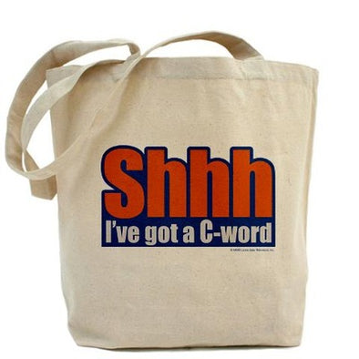 C Word Tote Bag