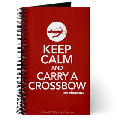 Keep Calm and Carry A Crossbow Journal