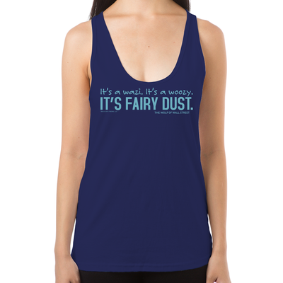 Wolf of Wall Street Fairy Dust Women's Racerback Tank