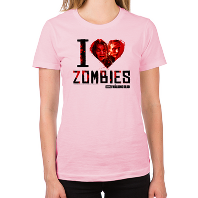 I Heart Zombies Women's Fitted T-Shirt