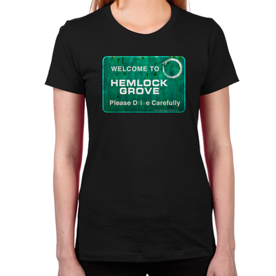 Welcome Hemlock Grove Women's Fitted T-Shirt