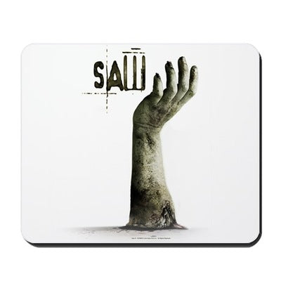 Saw Helping Hand Mousepad