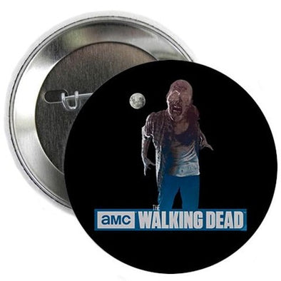 "Walking Dead Full Moon Zombie 2.25"" Button"
