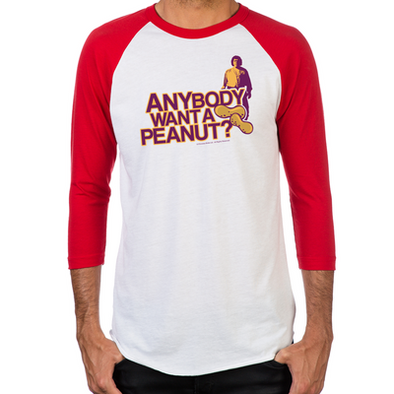 Anybody Want A Peanut? Men's Baseball T-Shirt